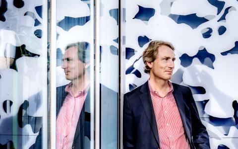 Erik Selin är VD på Fastighets AB Balder